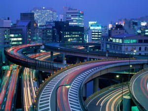 Передвижение по Токио