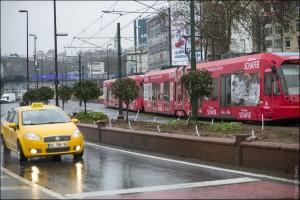Общественный транстпорт в Стамбуле