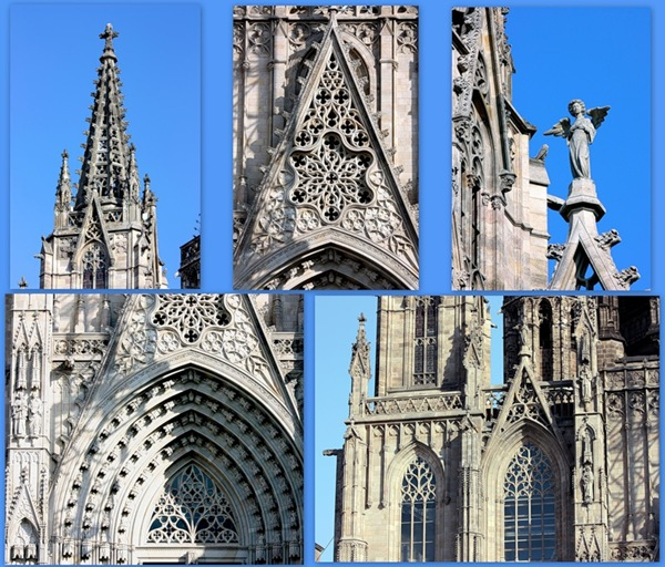 Готическая архитектура в Барселоне, фото
