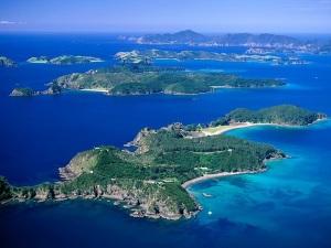 Severnyiy ostrov v Novoy Zelandii